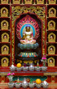 Buddhist shrine Royalty Free Stock Photo