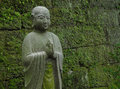 Buddhist statue kamakura japan in Stock Image