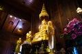 Buddhist statue. Royalty Free Stock Photo