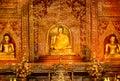 Buddhist statues Royalty Free Stock Photo