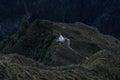 Buddhist Stupa in Nepal mounting Royalty Free Stock Photo