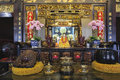 Buddhist Temple Altar Stock Photo