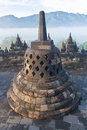 Buddhist temple Borobudur Royalty Free Stock Photo
