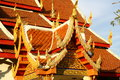 Buddhist temple in chiang mai thailand Stock Photo