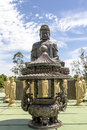 Buddhist Temple, Foz do Iguacu, Brazil. Royalty Free Stock Photo