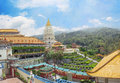 Buddhist temple kek lok si in malaysia georgetown Royalty Free Stock Image