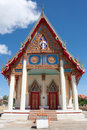 Buddhist temple in Korat Thailand Royalty Free Stock Photo