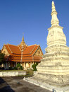 Buddhist temple, Laos. Royalty Free Stock Photos