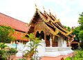 Buddhist temple named Wat Phra Singh Stock Photography
