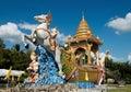 Buddhist Temple Shrine, Thailand Travel Royalty Free Stock Photo