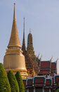 Buddhist temple wat phra kaeo bangkok thailand asia Royalty Free Stock Photo