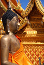 Buddhist temples in chiang mai thailand Stock Photos