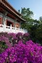 Buddhistic monastery Royalty Free Stock Photography