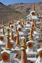 Buddhistic stupas Stock Photo