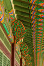 Buddhistic temple ornaments buddhist close up Stock Photo