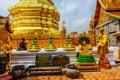 Buddist temple in chiang mai thailand Stock Photos