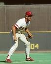 Buddy bell cincinnati reds b image taken from color slide Stock Images