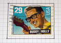 Buddy Holly Royalty Free Stock Photo