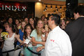 Buddy valastro tlc cake boss the star of channel with his fans on june in shopping center usce in belgrade serbia promoting new Royalty Free Stock Photo