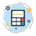 Budget calculation vector concept