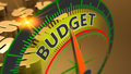 Budget, money, capital and finance as a business concept background Royalty Free Stock Photo