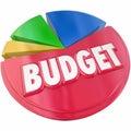 Budget Pie Chart Plan Money Spending Saving