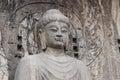 Budha's statue at Longmen Grottoes, Luoyang, Henan, China Royalty Free Stock Photo