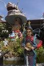 Budha  in Dragon Pagoda Royalty Free Stock Photo