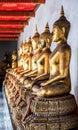 Budha Statues at Wat Pho