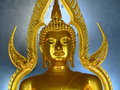 Budhha a buddha at thailand in temple Royalty Free Stock Images