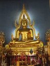 Budhha a buddha at thailand in temple Stock Photography