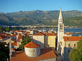 Budva Old town Stock Photography