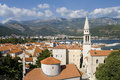 Budva scenery Stock Photos