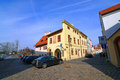 Budweis old house Royalty Free Stock Photo