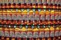 Budweiser bottles Royalty Free Stock Photo