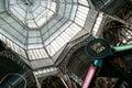 Buenos aires około listopad kopuła sławny san telmo rynek dowiedziona w około listopad miasto jest bardzo popularnym Obraz Royalty Free