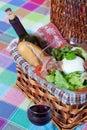 Bufala mozzarella salad Royalty Free Stock Photo