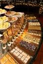 Bufete do canto da sobremesa Imagem de Stock
