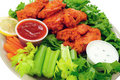 Buffalo chicken wings Stock Images