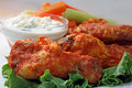 Buffalo chicken wings  Royalty Free Stock Images