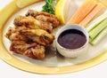 Buffalo chicken wings Stock Photos