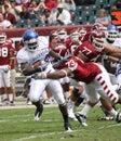 Buffalo linebacker Justin Winters Royalty Free Stock Photo