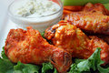 Buffalo Wings Royalty Free Stock Image