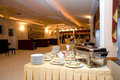 Buffet de restaurant Photo libre de droits