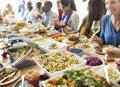Buffet Dinner Dining Food Cele...