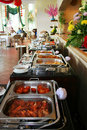 Buffet at restaurant Royalty Free Stock Image