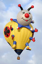 Bug Hot Air Balloon Royalty Free Stock Photos