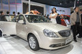 Buick excelle car opened door new in the th zhengzhou dahe spring international auto show take from zhengzhou henan china Stock Images