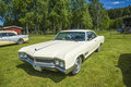 Buick wildcat classic amcar the image is shot by dawn at the farm in halden norway Royalty Free Stock Photography