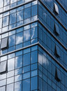 Build outside the glass curtain wall of architecture Royalty Free Stock Image